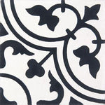 Cement Tile | Musk | Black & White - Zoco Home