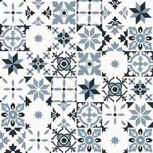 Cement Tile | Patchwork | Black & Grey - Zoco Home