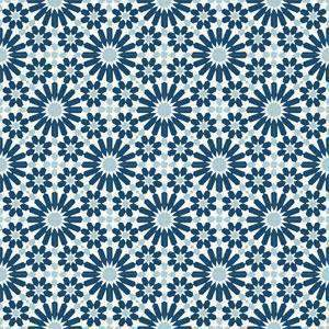Cement Tile | Samira | Navy Blue