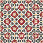 Cement Tile | Samira | Red - Zoco Home