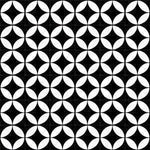 Cement Tile | Tanger | Black
