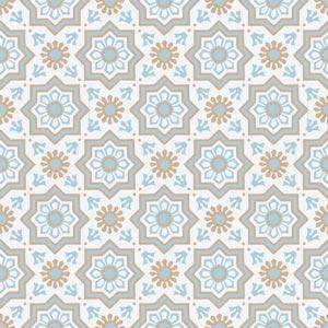 Cement Tile | Tetuan | Blue & Grey