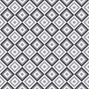 Cement Tile | Yasmine | Black & Grey