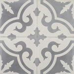 Cement Tile | Zahara | Grey