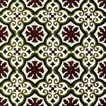 Patterned Cement Tile | 20458