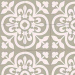 Patterned Cement Tile | 20696