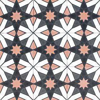 Patterned Cement Tile | 20990