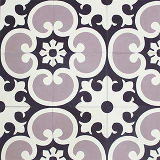 Patterned Cement Tile | 21065
