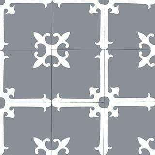 Patterned Cement Tile | 21096