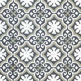 Patterned Cement Tile | 21300