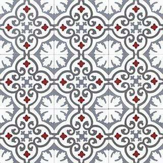Patterned Cement Tile | 21344