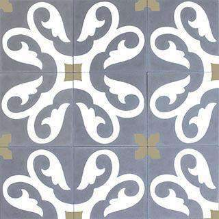 Patterned Cement Tile | 20804