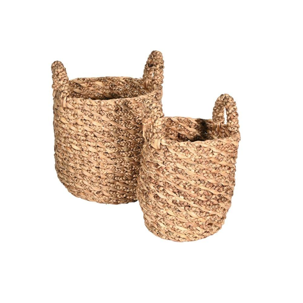 Water Hyacinth Basket | Set of 2