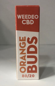 ORANGE BUDS WEEDEO CBD 30mg 100mg 300mg (10ml ) - HEMPOINT CBD