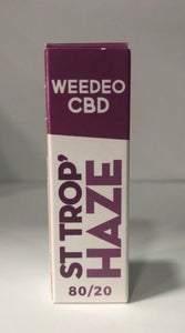 ST TROP HAZE WEEDEO CBD 30mg 100mg 300mg (10ml ) - HEMPOINT CBD