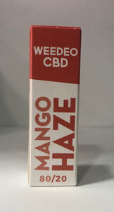 MANGO HAZE WEEDEO CBD 30mg 100mg 300mg (10ml ) - HEMPOINT CBD