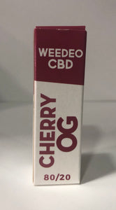 CHERRY OG WEEDEO CBD 30mg 100mg 300mg (10ml ) - HEMPOINT CBD