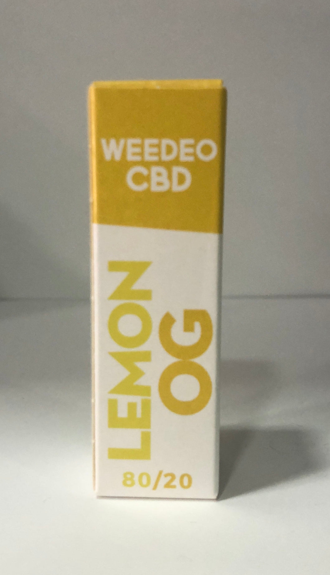LEMON OG WEEDEO CBD 30mg 100mg 300mg (10ml ) - HEMPOINT CBD