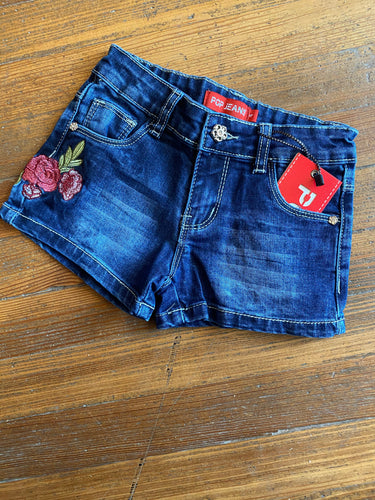 Rosie denim short (toddler)