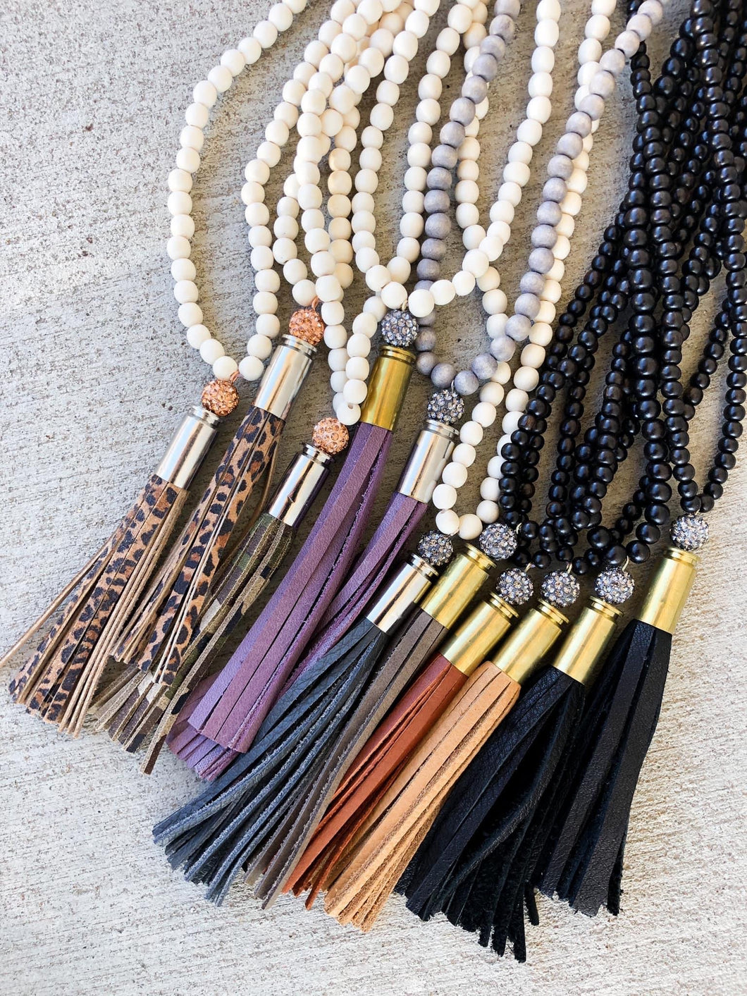 Shelby tassel necklace