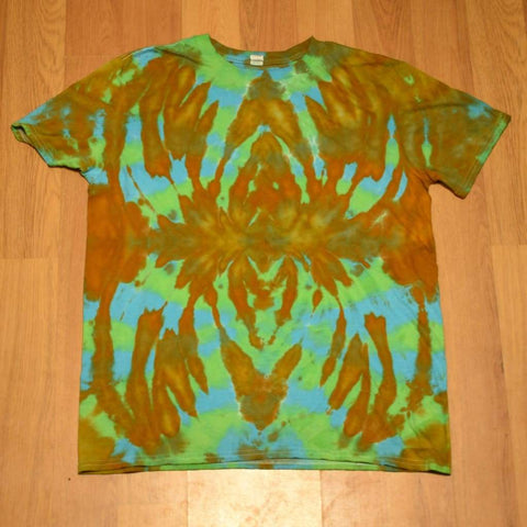 Large Tie-Dye T-Shirt - clothing - adult anvil large random tshirt - STUFF N THINGS