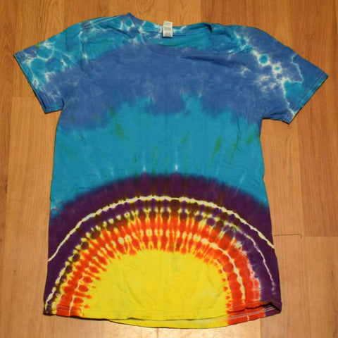 Small Tie-Dye T-Shirt - clothing - adult anvil random small tshirt - Stuff N Things