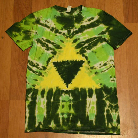 Small Triforce T-Shirt - clothing - adult anvil small triforce tshirt - Stuff N Things
