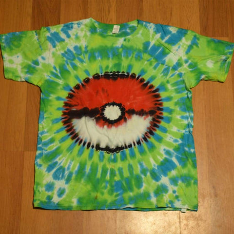 Youth XL Pokeball T-Shirt - clothing - anvil pokeball tshirt xl youth - STUFF N THINGS