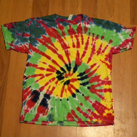 Youth XL Tie-Dye T-Shirt - clothing - anvil random tshirt xl youth - STUFF N THINGS