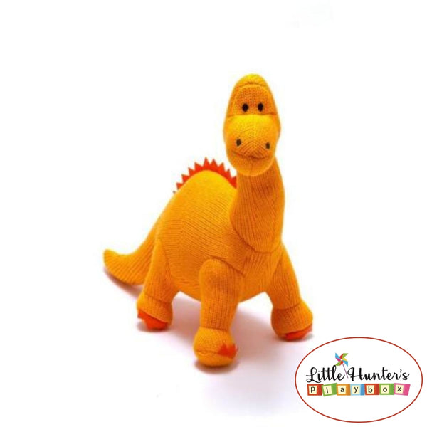 Dippy Dinosaur Rattle Orange Baby Gift Ideas