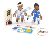 Doctor & Nurse Eco Friendly Playset Playpress Toys