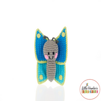 Fair Trade Butterfly Rattle