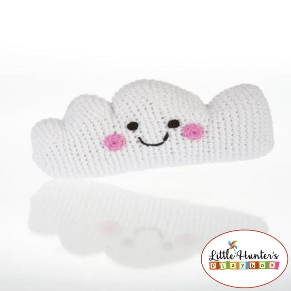 Fair Trade Friendly Cloud Rattle Baby Gift Ideas