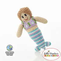 Fair Trade Mermaid Rattle Baby Gift Ideas