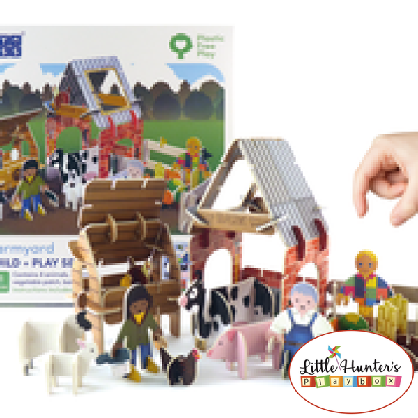 Farmyard Eco Friendly Playset Playpress Toys