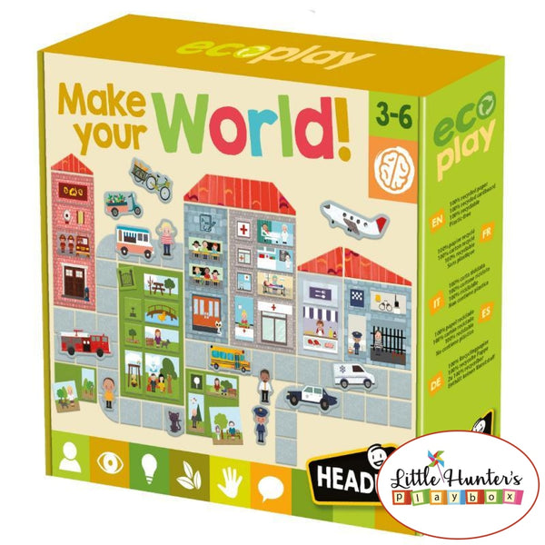 Make Your Own World Puzzles