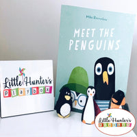 Meet The Penguins Story Boxes