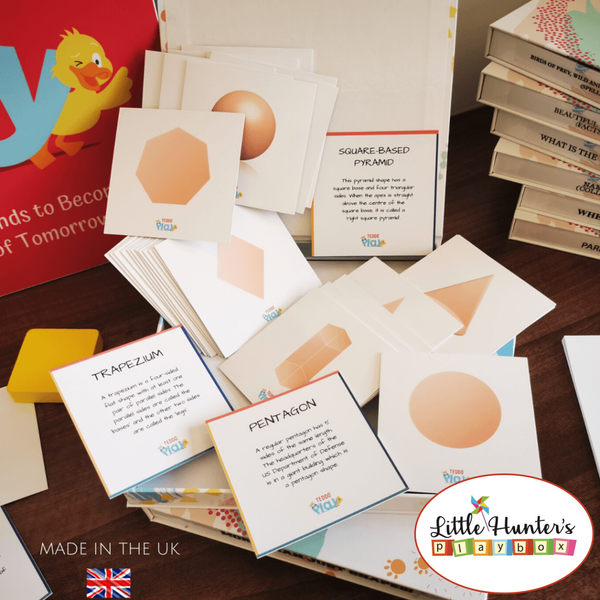 More Than Just Shapes! (Set Of 34 Learning Cards) Teddo Play