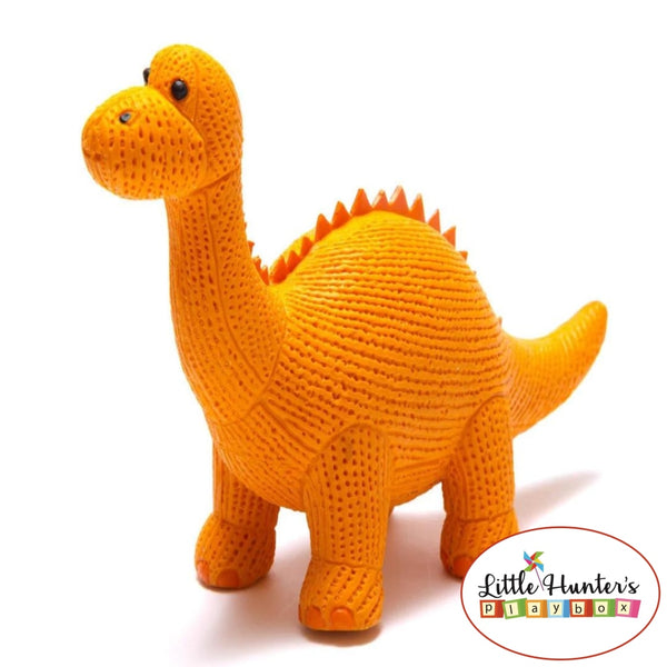 My First Rubber Dinosaurs Orange Dippy Dinosaurs