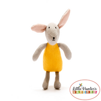 Organic Cotton Bunny In Mustard Baby Gifts