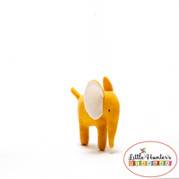 Organic Elephant In Mustard Baby Gift Ideas