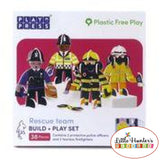 Police & Fireman Eco Friendly Playset Playpress Toys