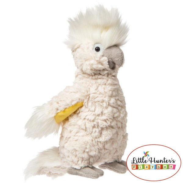 Putty Cockatoo Cream Soft Toy