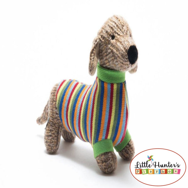 Reggie The Sausage Dog Soft Toy
