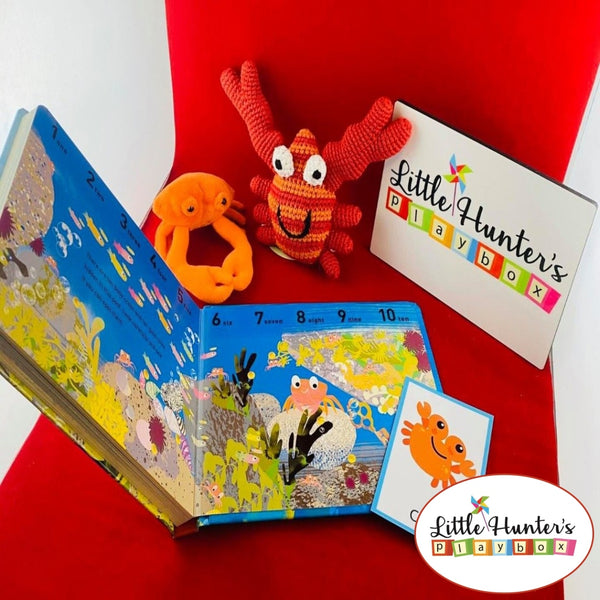 Tip Tap Crab Themed Story Playbox Boxes