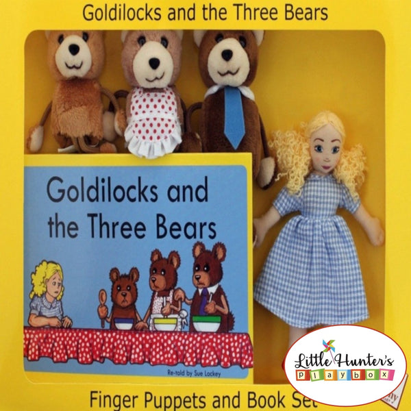 Traditional Story Box Goldilocks & The 3 Bears