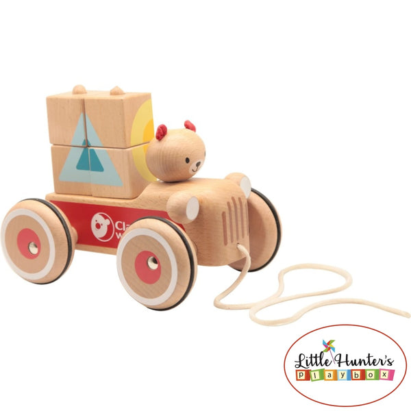 Wooden Coco Truck Educational Toys