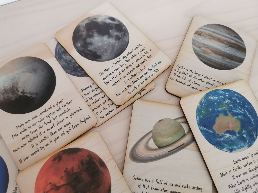 Outer Space Cards-