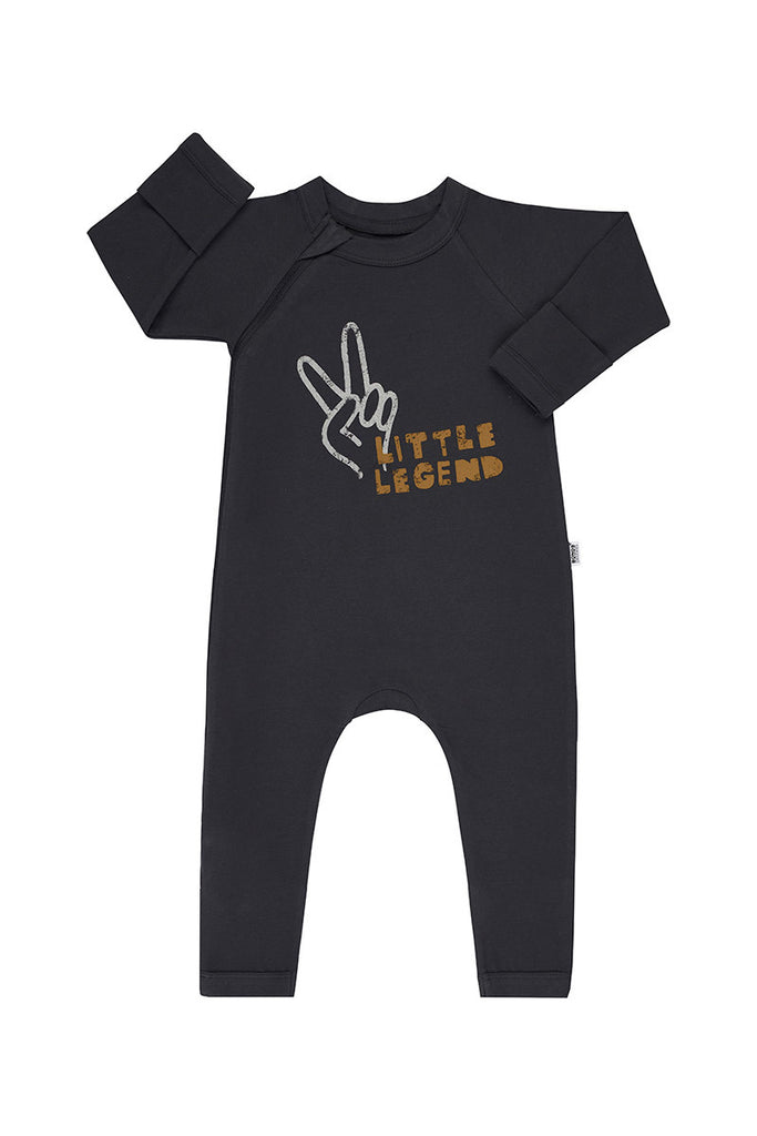 Preorder eta Early March Little Legend Deep Night Coverall Organic Cotton