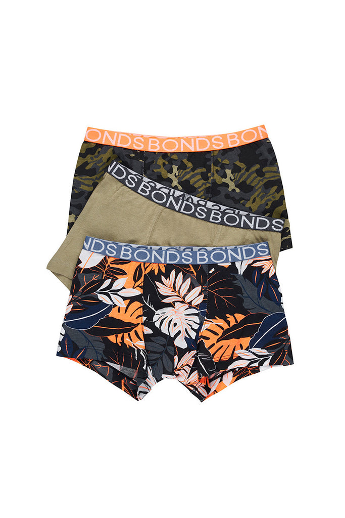 Dream Big Jungle Boys 3 Pack Trunks